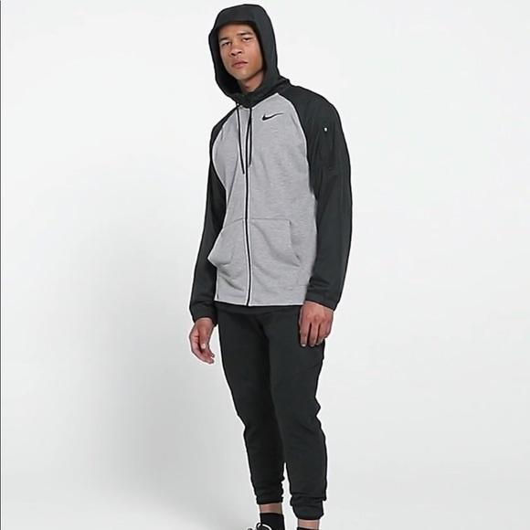 e9bfee06 Nike Jackets & Coats | Mens Training Utility Full Zip Hoodie Medium ...